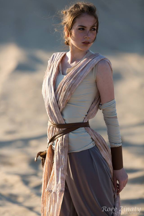 Rey from Star Wars Cosplay