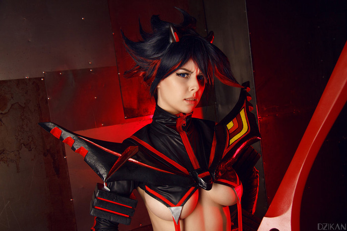 Ryuko from Kill la Kill Cosplay