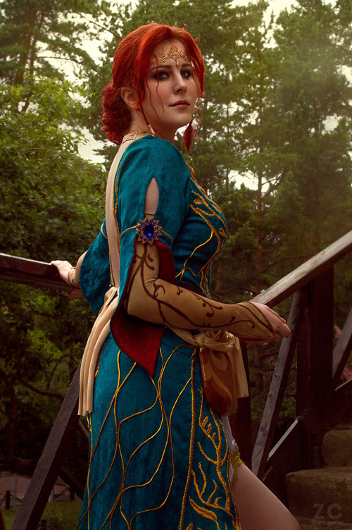 Triss Merigold from The Witcher 3 Cosplay