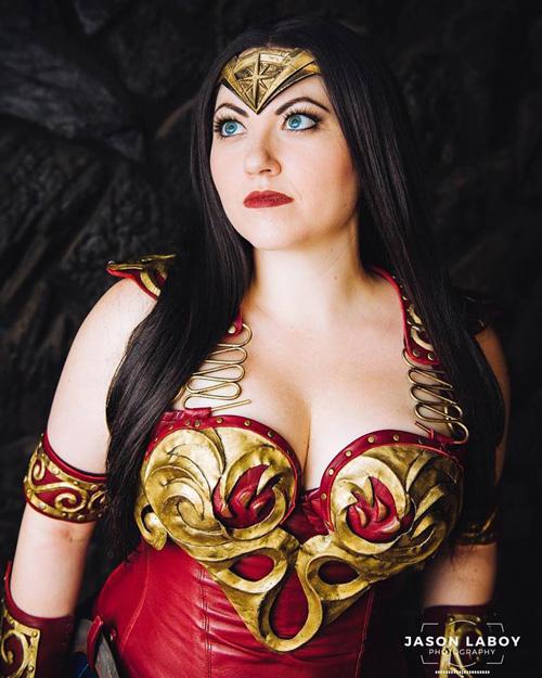 Wonder Woman Xena Mashup�Cosplay