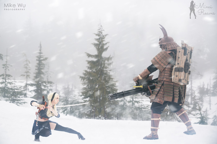 Babydoll & Samurai Cosplay