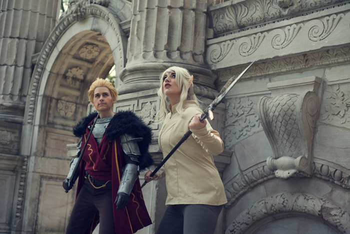 Cullen & Inquisitor from Dragon Age: Inquisition Cosplay