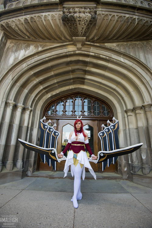 Wingblade Erza from Fairy Tail Cosplay
