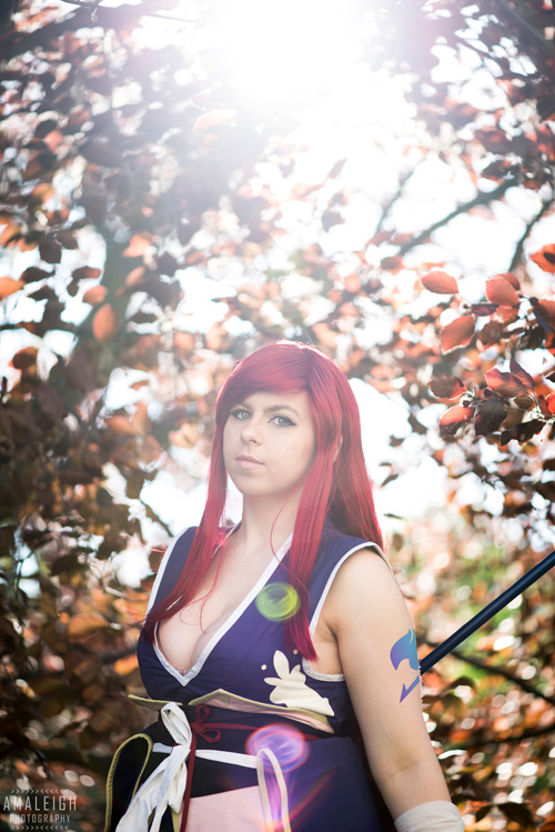 Robe of Yuen Erza from Fairy Tail Cosplay
