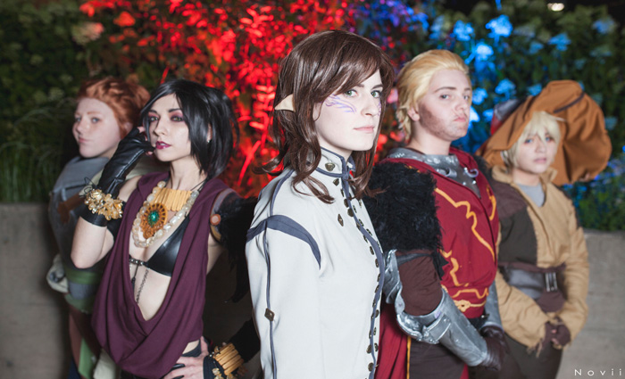 Dragon Age: Inquisiton Group Cosplay