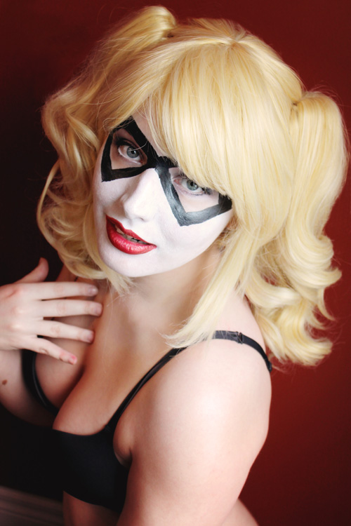 Harley Quinn Makeup Photoshoot