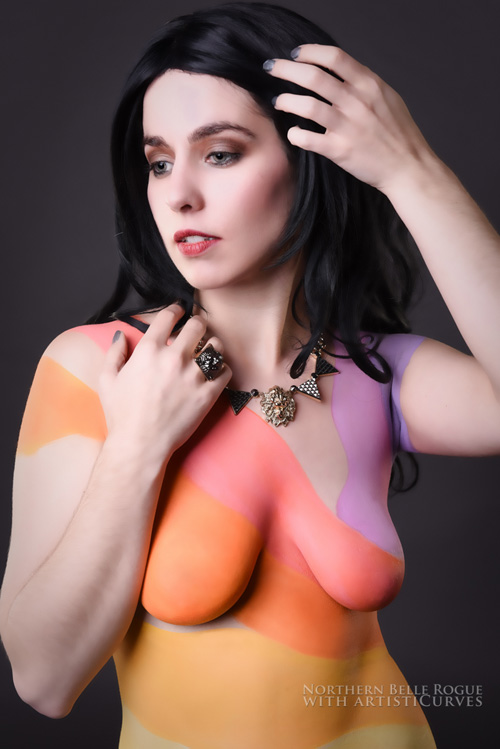 Katy Perry Body Paint