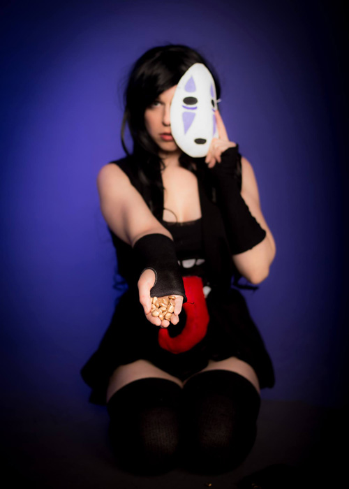 No-Face Cosplay