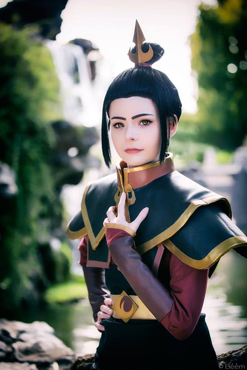 Azula from Avatar: The Last Airbender Cosplay