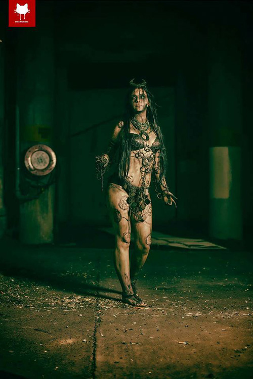 Enchantress from Suicide Squad Cosplay