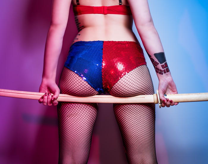 Suicide Squad Harley Quinn Boudoir Cosplay