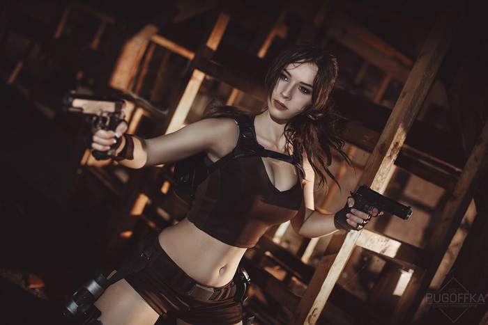 Lara Croft from Tomb Raider: Underworld�Cosplay
