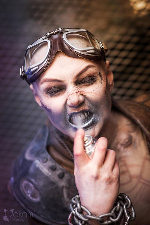 Nux from Mad Max: Fury Road Cosplay