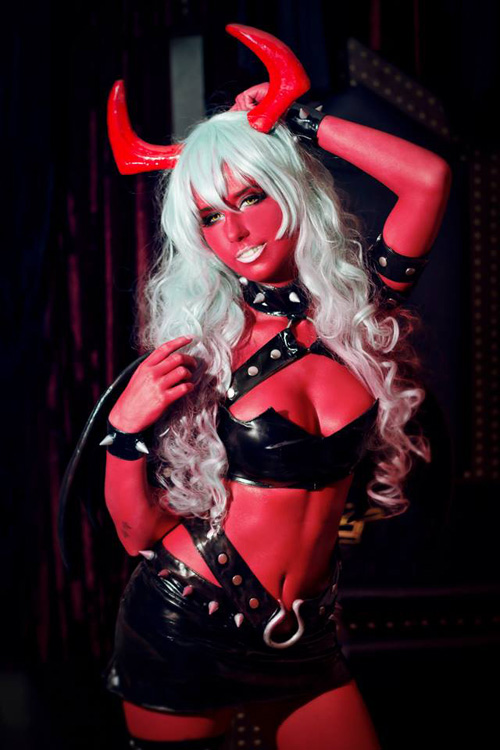 Scanty from�Panty & Stocking with Garterbelt Cosplay