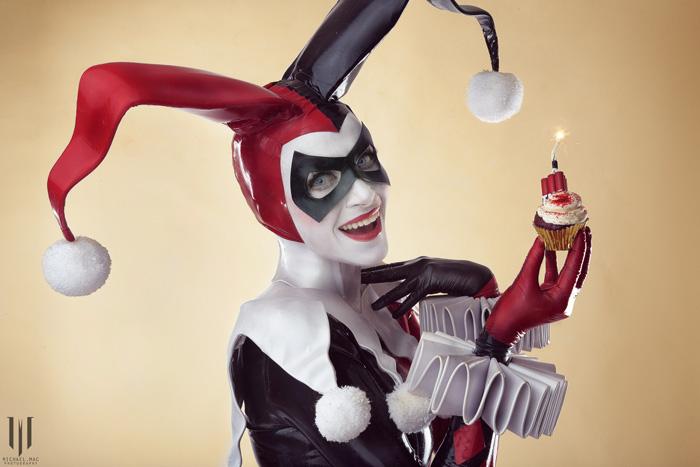 Harley Quinn Latex Cosplay