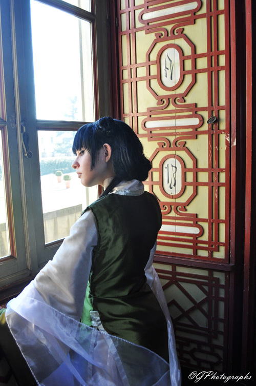 Mai from Avatar: The Last Airbender Cosplay