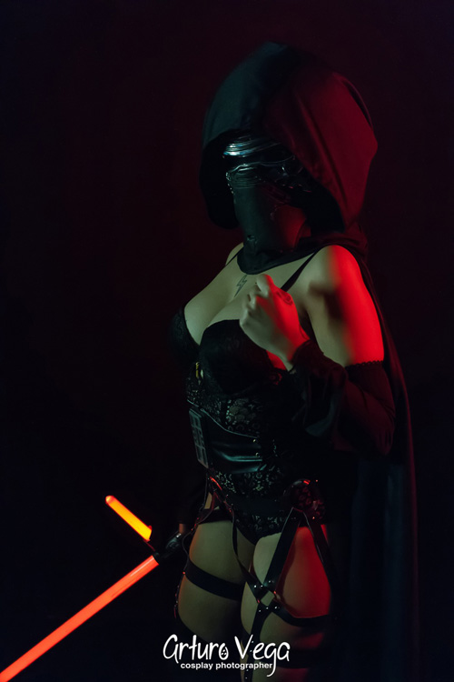 Sexy Female Kylo Ren Photoshoot