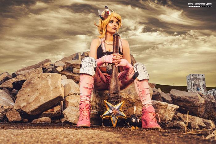 Apocalypse Princess Peach Cosplay