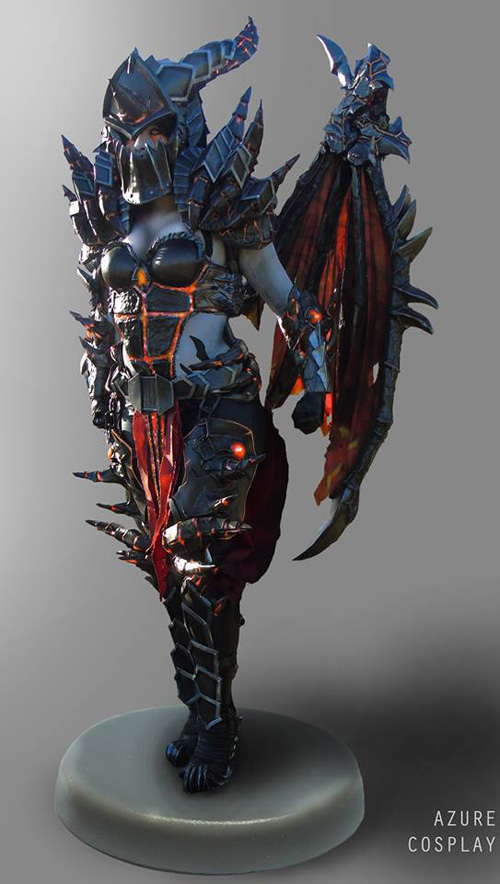 Deathwing from�World of Warcraft�Cosplay