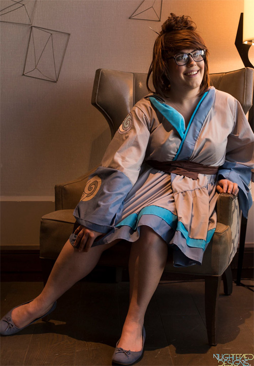 Kimono Mei from Overwatch Cosplay