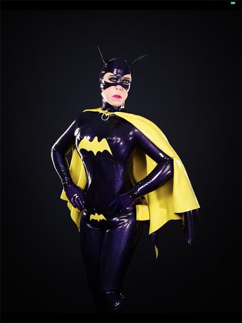 Latex Batgirl Cosplay