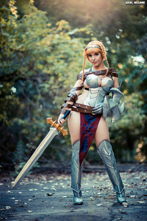 Leina from Queens Blade Cosplay