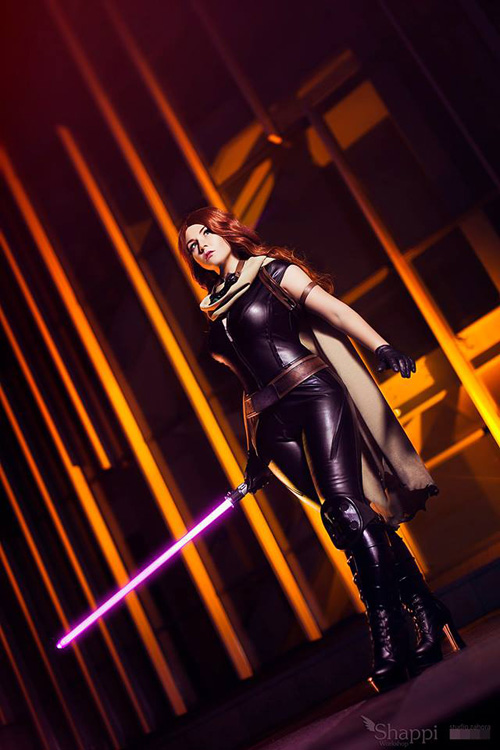 Mara Jade Skywalker Cosplay