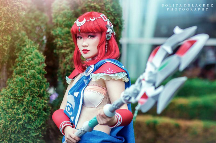 Mipha from The Legend of Zelda: Breath of the Wild Cosplay