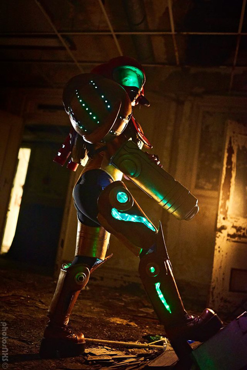 Samus from Metroid Cosplay