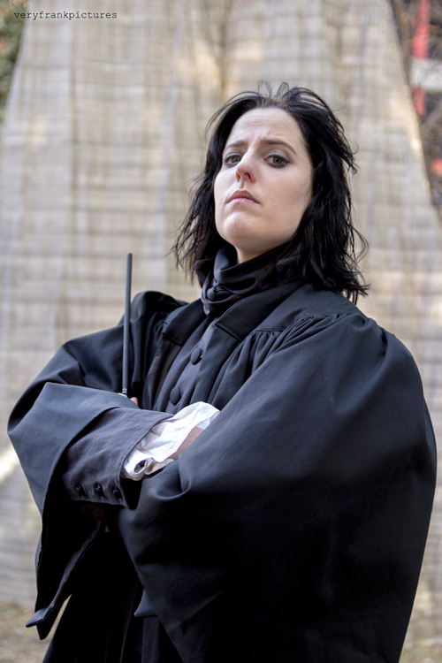 Severus Snape from Harry Potter Cosplay