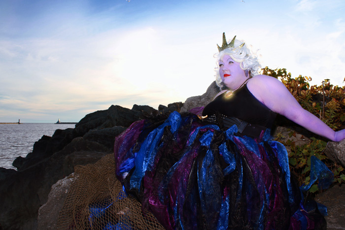 Ursula from The Little Mermaid Cosplay