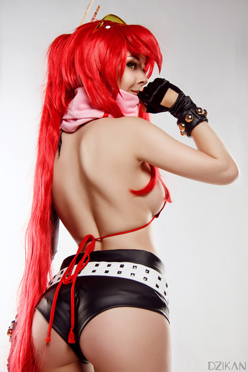 Yoko Littner from Gurren Lagann Cosplay
