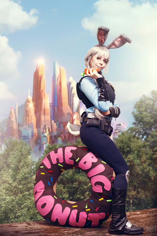 Judy Hopps from Zootopia Cosplay