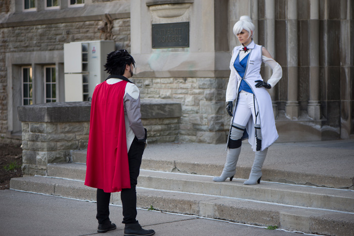 Qrow & Winter from RWBY Cosplay