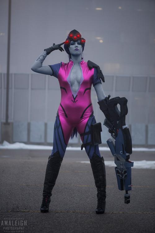 Widowmaker from Overwatch Cosplay