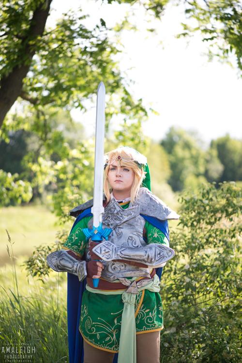 Art Nouveau Legend of Zelda Group Cosplay