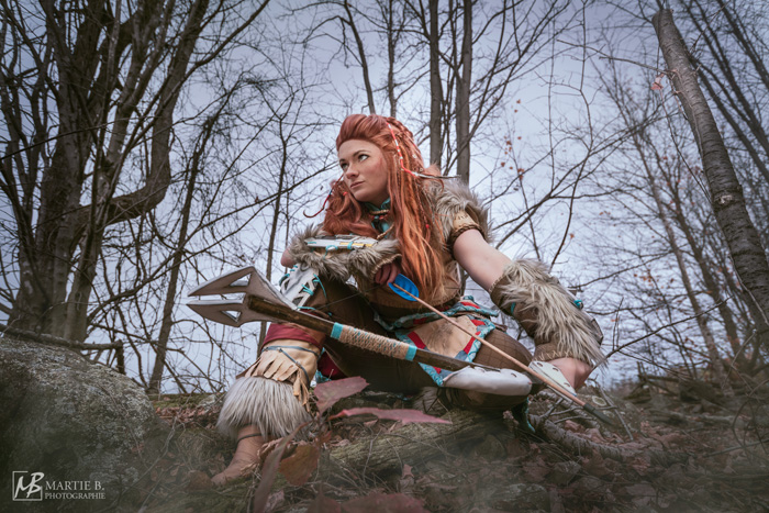 Aloy from Horizon: Zero Dawn Cosplay