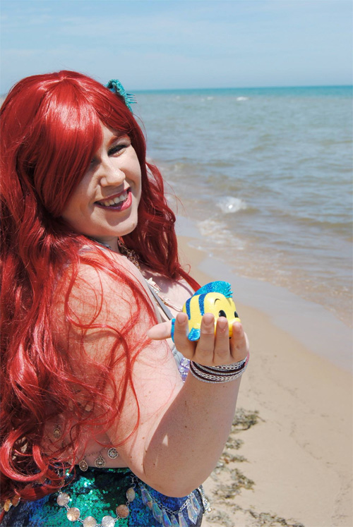 Blinged Out Ariel�Cosplay