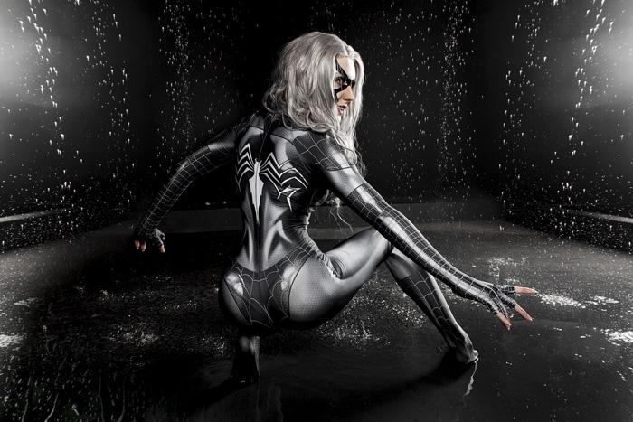 Black Cat Venom Cosplay