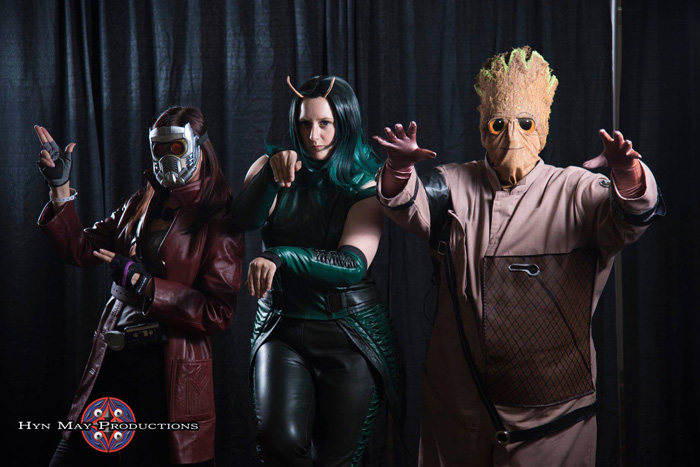 Guardians of the Galaxy Group Cosplay