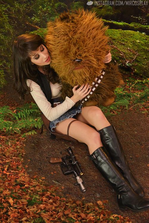 Genderbent Han Solo Star Wars Cosplay