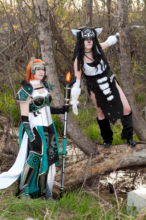 Midna and Wolf Link Cosplay