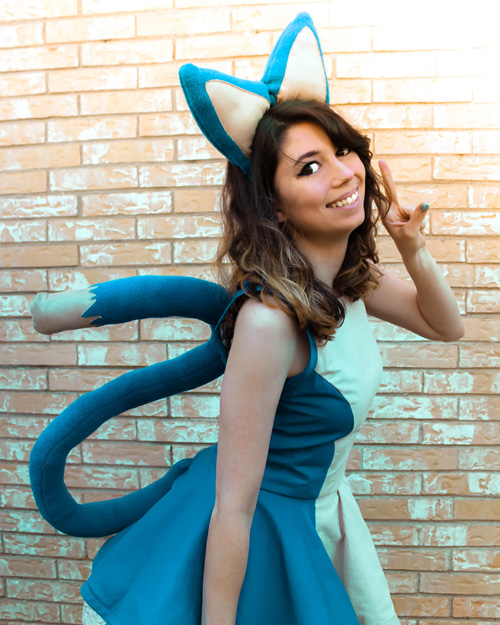 Puar from Dragon Ball Cosplay