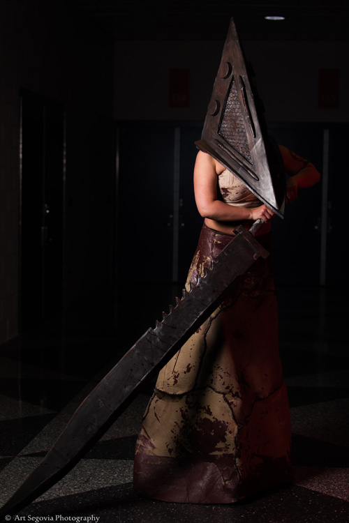 Pyramid Head from Silent Hill Cosplay