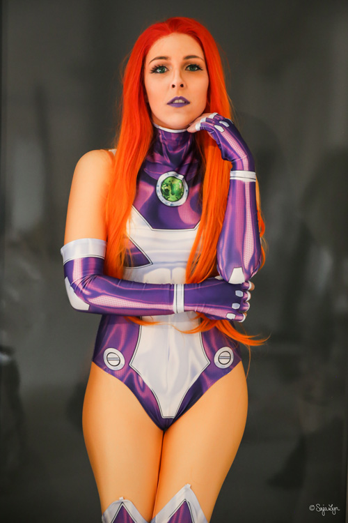 Starfire from DC Comics Cosplay