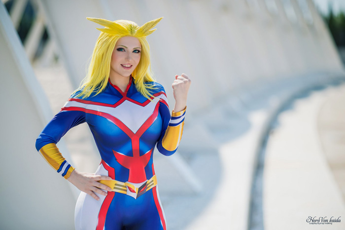 All Might from My Hero Academia Cosplay