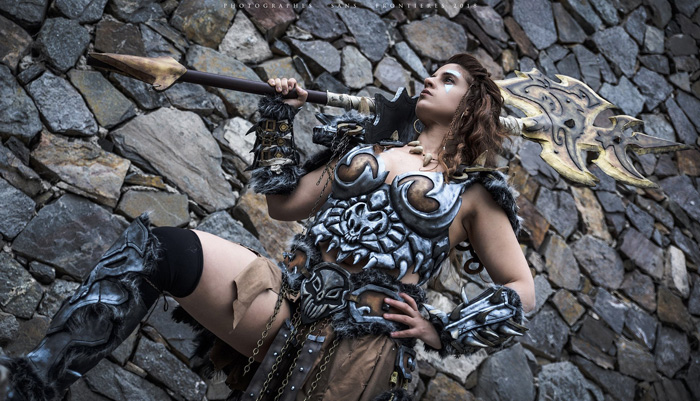 Barbarian from Diablo III Cosplay