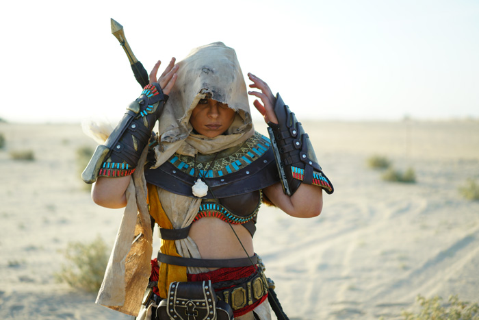 Bayek from Assassins Creed Origins Cosplay