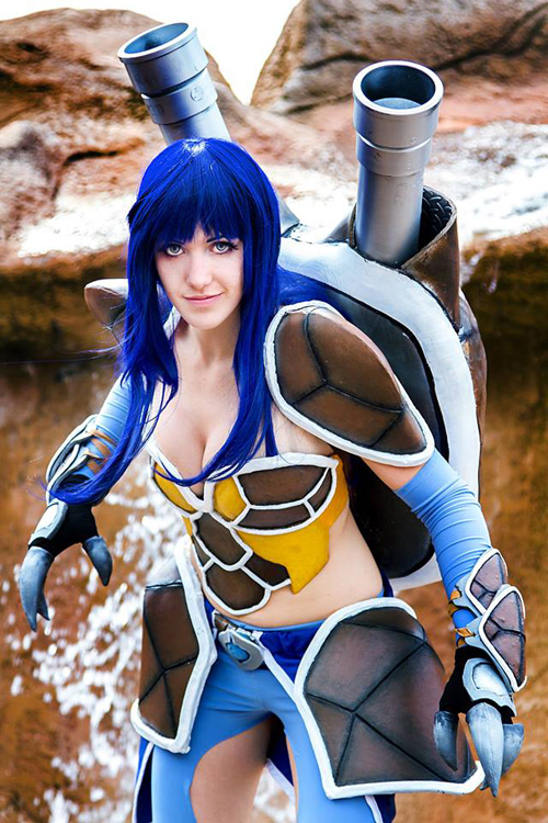 Blastoise Gijinka Pokemon Cosplay