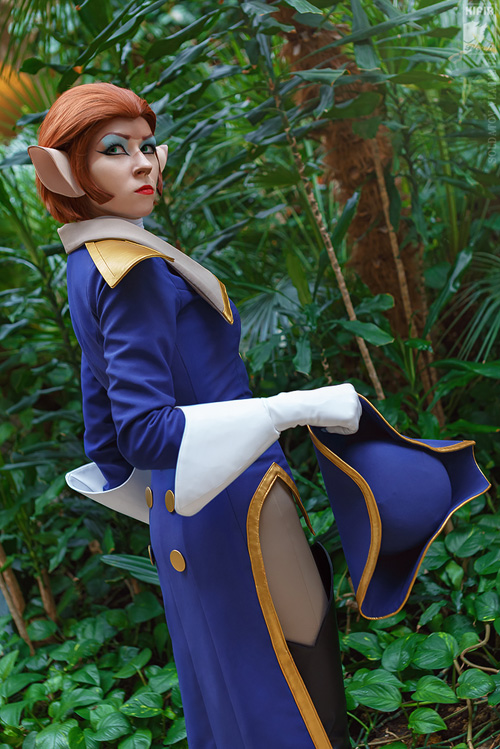 Captain Amelia from Treasure Planet Cosplay